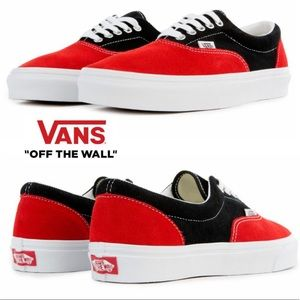 Vans Era Sneaker Racing Red / True White
